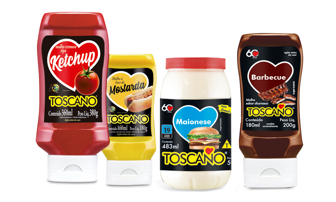 Pack Lanches Toscano Alimentos